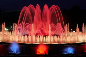 Поющие фонтаны Монтжуик